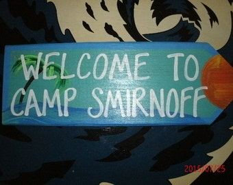 Welcome To Camp Smirnoff