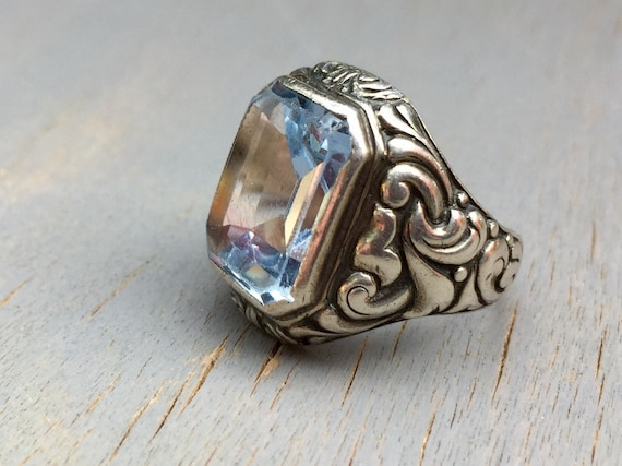 Antique Victorian Mens Ring Silver Repousse Pinky Ring Sky. Dcuo Power Rings. Earthy Engagement Rings. Wedding Sri Lankan Wedding Rings. Natural Wedding Engagement Rings. Wedding Disney Engagement Rings. Werewolf Wedding Rings. Dodi Ring Engagement Rings. Women's Black Wedding Rings