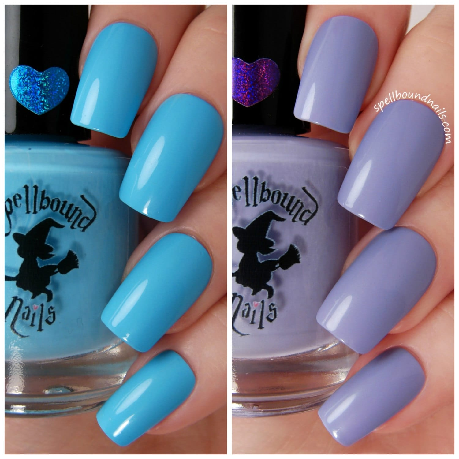 Bright Pastel Creme Collection Nail