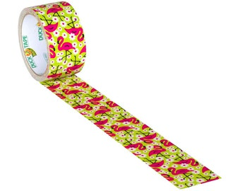 Half Price Sale -- Pink Flamingo Duct Tape | Duck Brand Tape