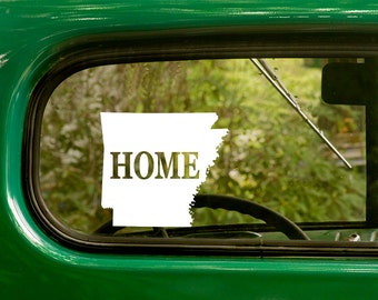 Arkansas Decal, Car Decal, State Sticker, Laptop Sticker, Arkansas Sticker, Bumper sticker, Vinyl Decal, Car Stickers