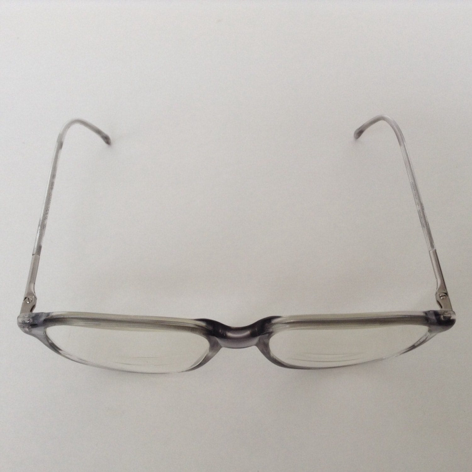 Marchon Eyeglasses Men or Womens Grey Fade Frames Made in Italy ...