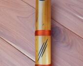 Japanese Shakuhachi - Heat Treated Bamboo Flute - Made Using Traditional Methods
