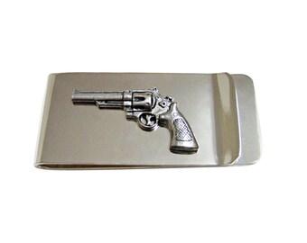 Modern Revolver Gun Money Clip