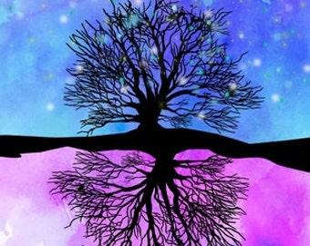 sophie's dream tree.. disney BFG.. digital download jpeg..8x10 or 16x20