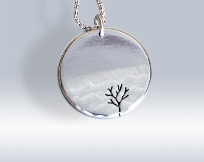 Silver tree pendants angela wright designs tree pendant silver jewelry silver pendant pendant silver jewellery tree by aloadofball Choice Image