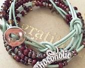 Chocoholic Death By Chocolate Wrap Bracelet