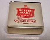 Better Made Potato Chip Tape Measure By Stanly Tools Advertisement Tape Measure