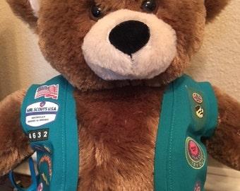 Build A Bear - Junior Girl Scout Vest