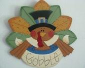Turkey, Thanksgiving, Holidays, Door Decor/Wall Decor/feathers