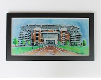 Alabama crimson tide poster 10x20 Alabama Football  gift
