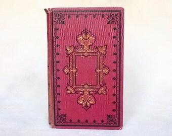 Unique Guestbook Idea, Wedding Vows, Bride & Groom Book, Bridal Shower Guestbook, Custom Vintage Journal, Blank Book, Small Sketchbook