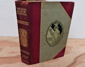 Antique Leather Bound Children's Book - The Book Of Adevnture - Young Folks' Library - 1901 - Illustrated