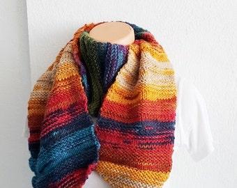 Colorful Scarf Shawl ,Shawl Shoulder Wrap Shoulder Shawl Knitted Scarf Shawl, winter accessories,autumn,Poncho Scarf Shawl,