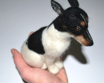 YOUR CHOICE Custom Felted Pet or Animal Made to Order
