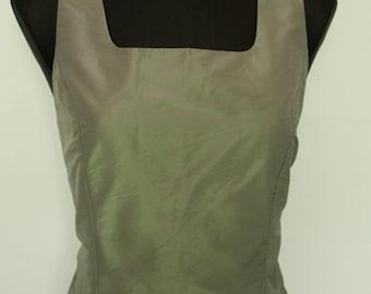 Vintage Women Giorgio Top Corset Shirt Blouse Top Tank