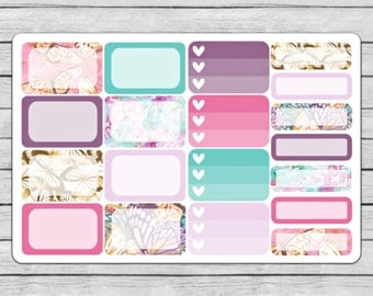 Spread Your Wings Assorted Boxes Planner Stickers
