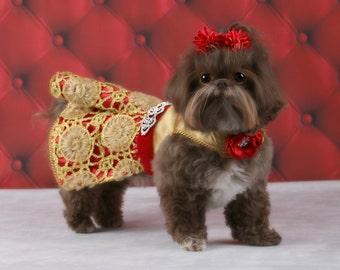 CHRISTMAS:  Special Event Dog Dress