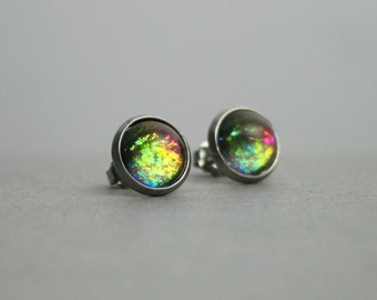 Magic Gathering - Color Shifting - Stainless Steel Stud Earrings