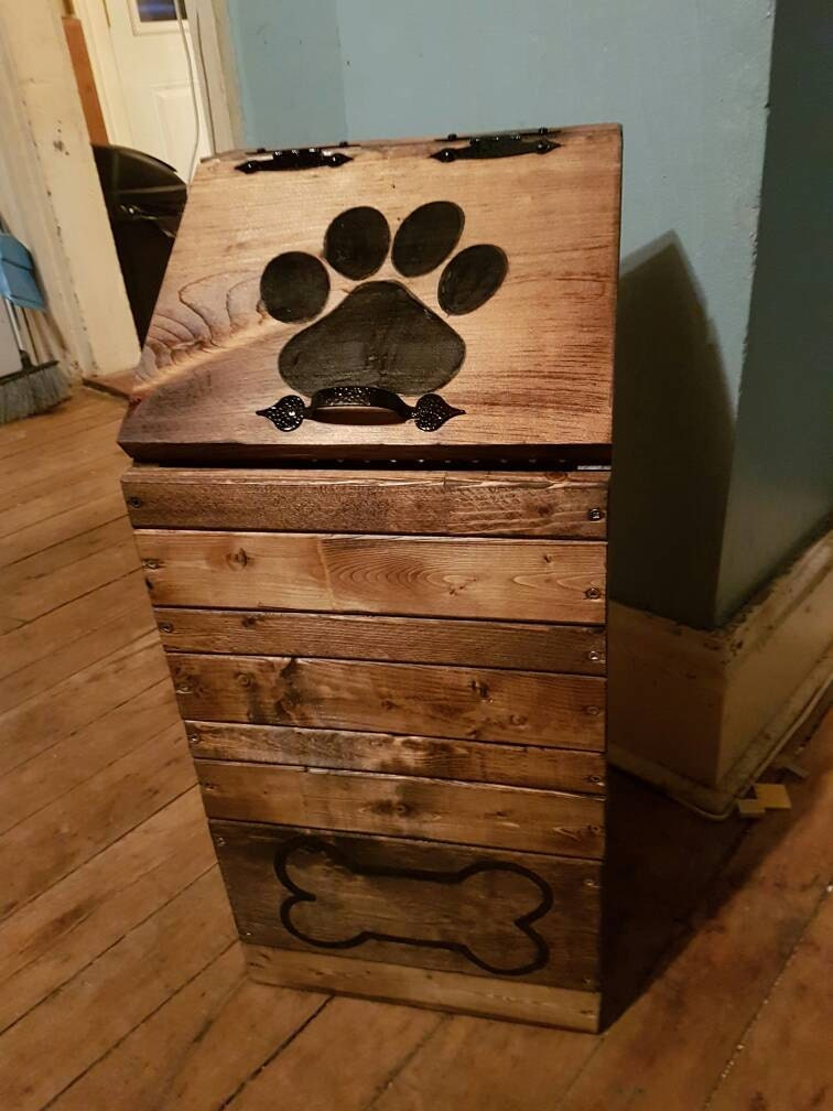Dog Food Storage Kitchen