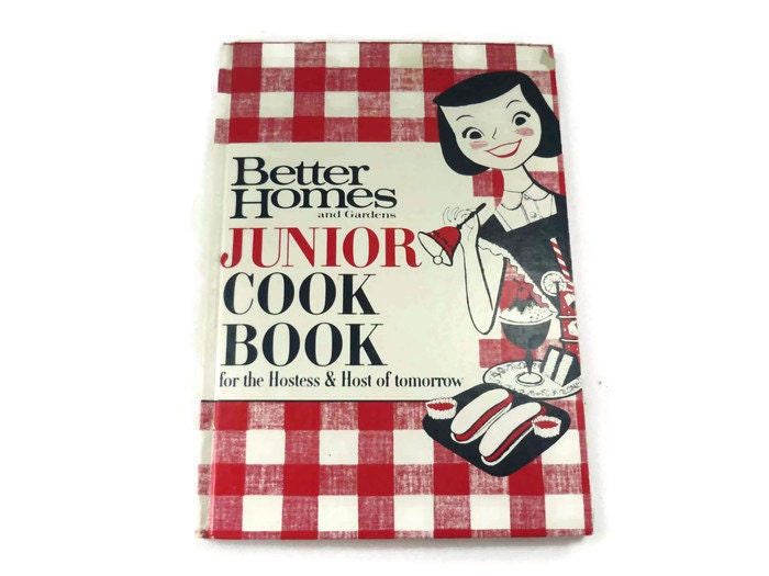 Better Homes And Gardens Junior Cookbook For The Hostess And