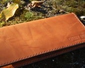 Toffee Coloured Long Wallet - Handmade Leather Wallet