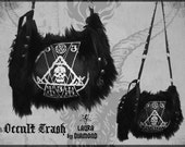 Laura Diamond occult trash bag