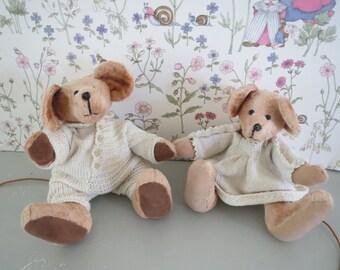 Vintage stuffed toy Mice vintage stuffed mouse Antique Mice