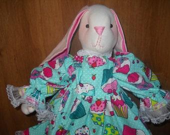 Skylar the Stuffed Bunny Rabbit Doll
