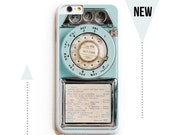 iPhone 6 Case. iPhone 6 Cases. Vintage Teal Payphone. Phone Case. iPhone Case. Case for iPhone 6.