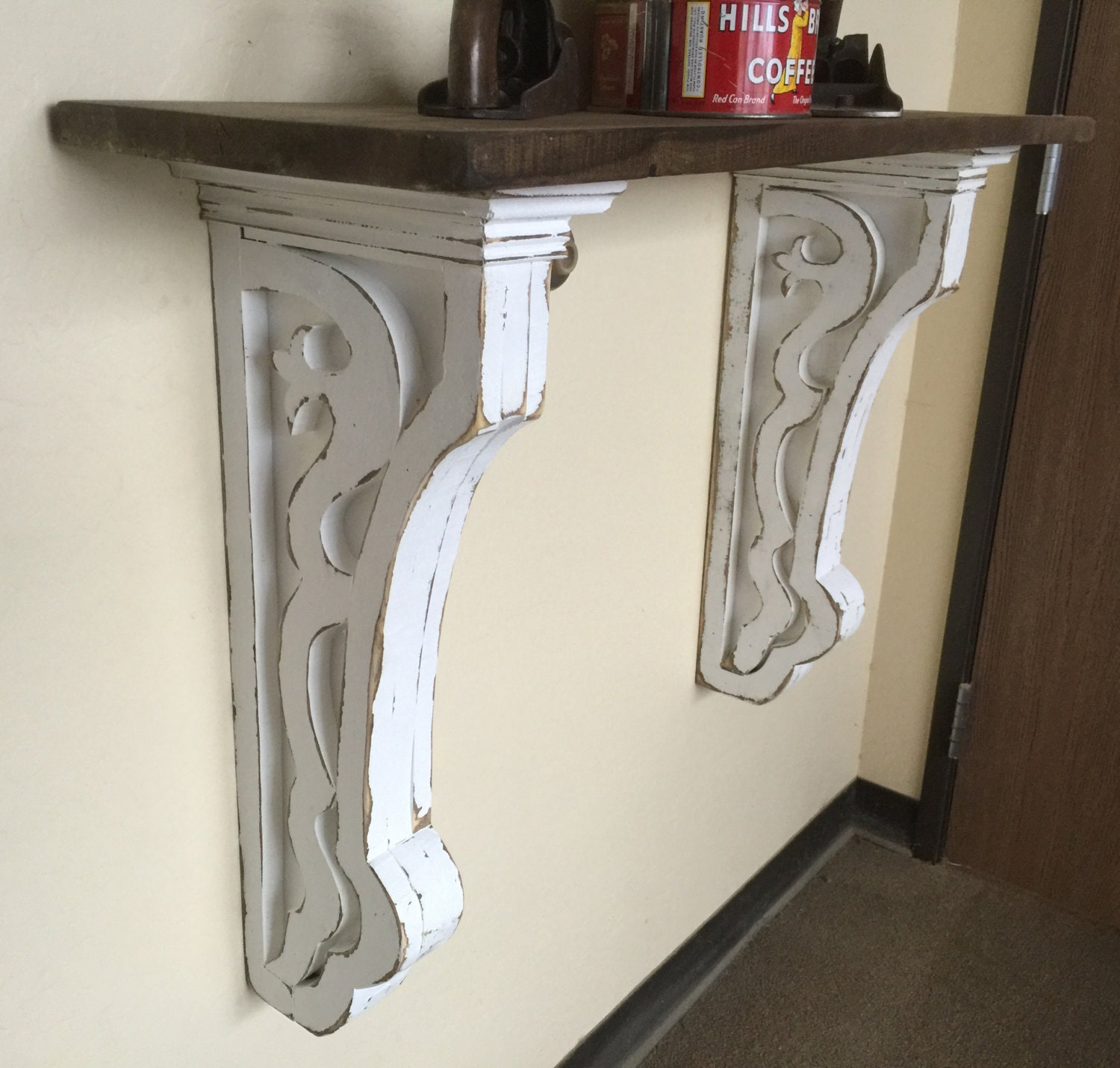 Antique style corbellarge corbels with shelf hallway corbel zoom amipublicfo Image collections