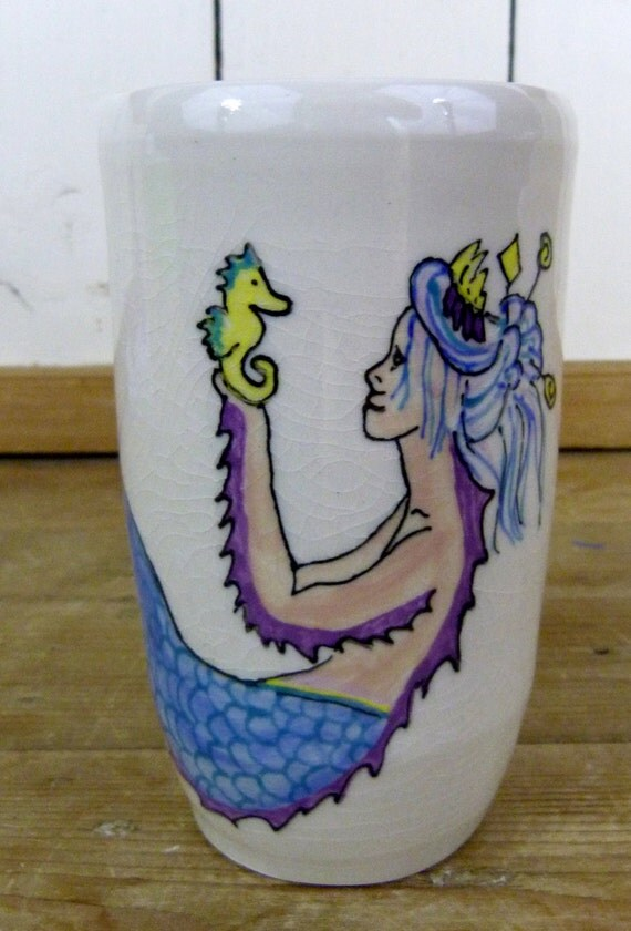 Mermaid Tumbler, 16 oz