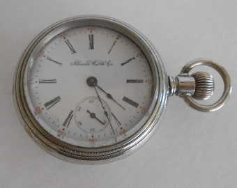 1909 Illinois Pocket Watch Size, 18s, 15 Jewels Keeps accurate time