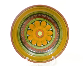 German pottery bowl from the 80s by KMK