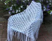 Popular items for lace crochet shawl on Etsy