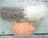 Ruffle Baby Bloomers / Ruffle Diaper Cover / Chiffon  Baby Bloomer / Baby bloomers / Baby Photo Prop / Ruffle Bum Baby Bloomer