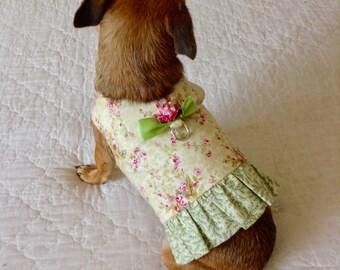 Small Dog Harness, Dog Harness, Custom to Fit,  Pet Items, Dog Apparel, Dog Vest, Dog Harness Vest, Teacup Dog Harness, Toy Dog Harness