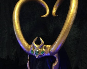 Lady Loki Headpiece - Made to Order