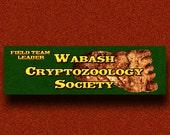 New for April - Wabash Cryptozoology Society