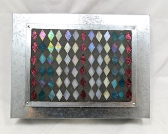 Mosaic Metal Mail Cubby