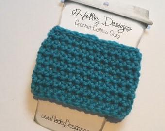 ready to ship Crochet Coffee Cozy