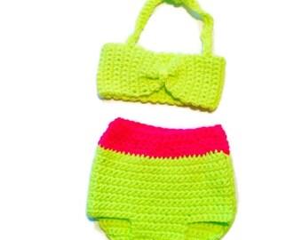 crochet baby bikini