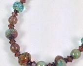 Elements Czech Glass Bracelet
