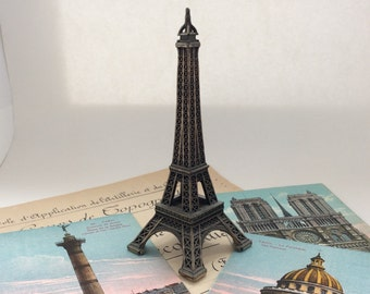 "5.25"" Eiffel Tower, Paris Iconic Landmark, Souvenir of Paris, France"