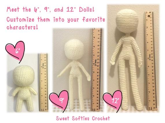 Base De Cuerpo Humano Amigurumi Crochet Patrones 6