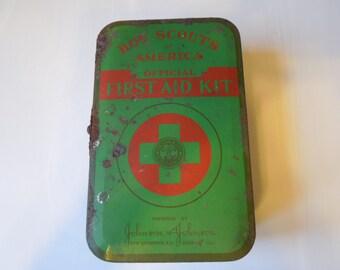Vintage BSA First Aid Kit 1940s
