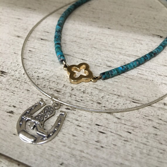 Country chokers, choker necklaces, turquoise choker, turquoise jewlery, cowgirl jewelry