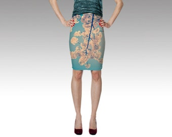 Cherry Blossoms Skirt - Photo Skirt - Vancouver, BC