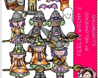 Witch clip art - Feelin Witchy Part 2