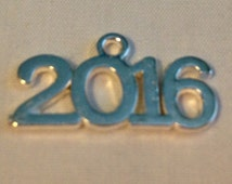 Metal 2013, 2014, 2015, or 2016 Charm (Charm Only)